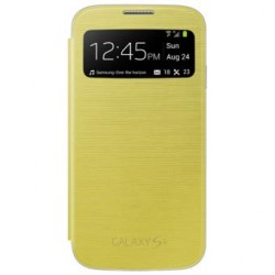 Coque coverflip S4 Jaune...