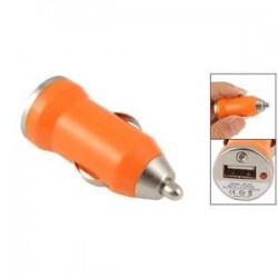 Prise allume cigare usb Orange