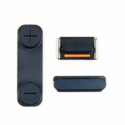 Kit Bouton iPhone 5 Noir...