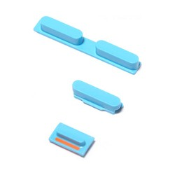 Kit Bouton iPhone 5C Blue...