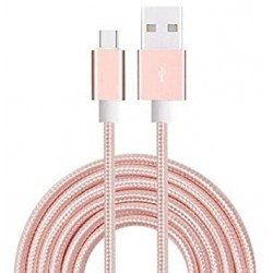 Cable usb vers Type C Rose...
