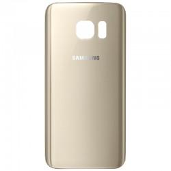 Vitre Arrière Samsung S7 Or