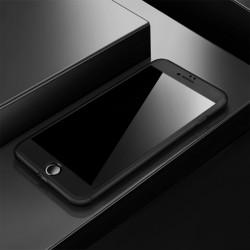 Coque 360 souple iPhone 7 Noir