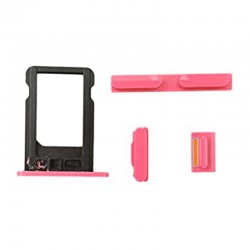 Kit Bouton iPhone 5C Rose...